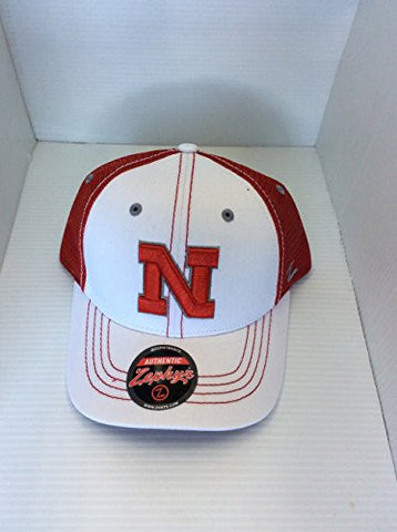 Nebraska Cornhuskers Zephyr Adult Whiteboard Authentic Hat - Dino's Sports Fan Shop
