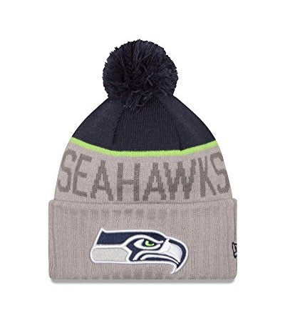 Seattle Seahawks New Era Sport Knit Hat - Dino's Sports Fan Shop