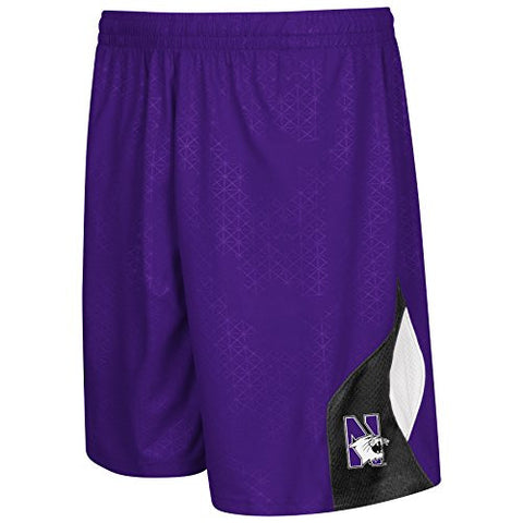 Northwestern Wildcats Colosseum Gridlock Youth Shorts - Dino's Sports Fan Shop