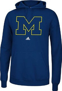 Michigan Wolverines Adidas Blue Sweatshirt - Dino's Sports Fan Shop