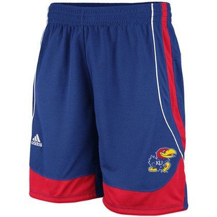 Kansas Jayhawks Adidas Youth Replica Shorts - Dino's Sports Fan Shop