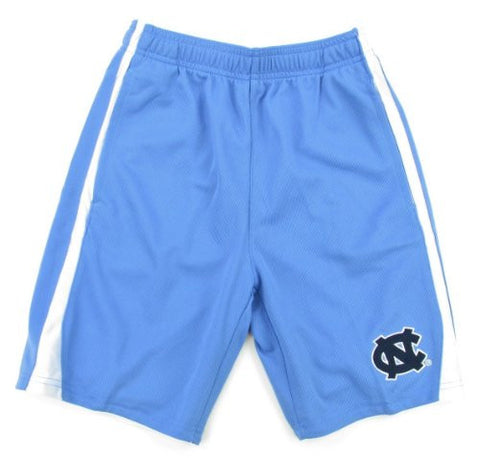 North Carolina Tar Heels Genuine Stuff Youth Blue 3-Point Shorts - Dino's Sports Fan Shop