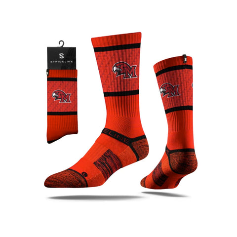 Miami of Ohio Redhawks Strideline Youth Standard Red Calf Socks