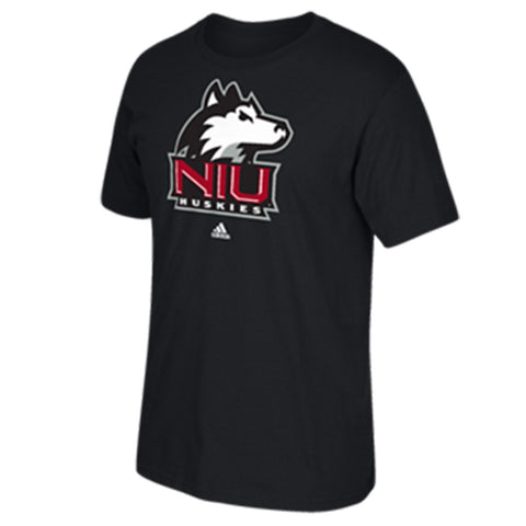 Northern Illinois Huskies Adidas Black Logo Go-To Tee - Dino's Sports Fan Shop