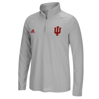 Indiana Hoosiers Adidas Ultimate Adult 1/4 Zip