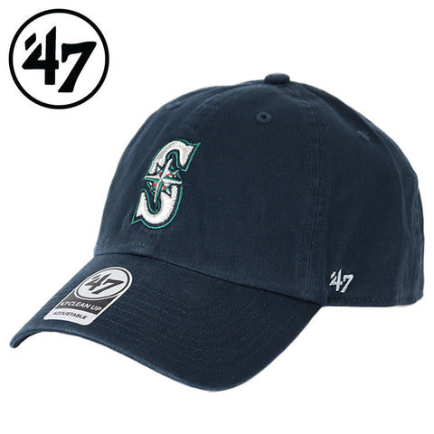 Seattle Mariners '47 Brand Clean Up Adjustable Hat