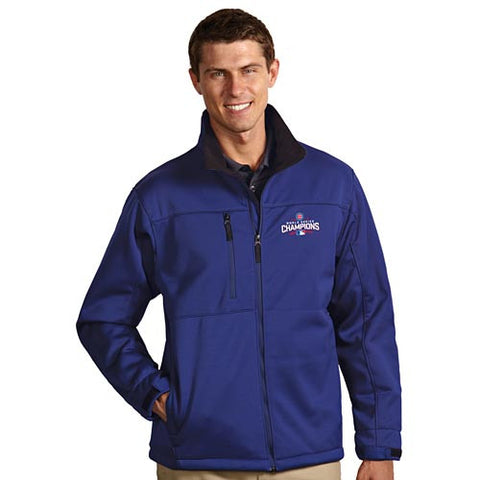 Cubs Antigua Traverse Jacket Blue Adult