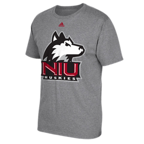Northern Illinois Huskies Adidas Giant Logo Go-To Tee - Dino's Sports Fan Shop