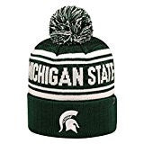 Michigan State Spartans Top Of The World NCAA Green Driven Adult Knit Hat
