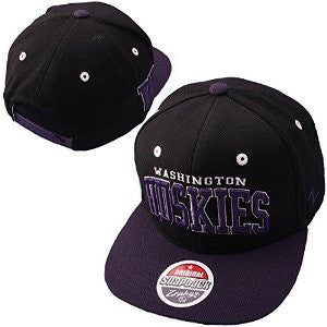 Washington Huskies Zephyr Super Star 32/5 Adjustable Hat - Dino's Sports Fan Shop