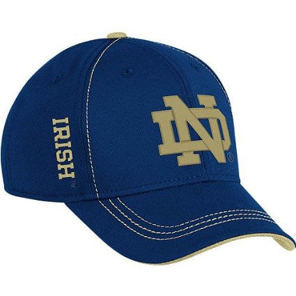 Notre Dame Fighting Irish adidas Coaches Structure Flex Hat - Dino's Sports Fan Shop