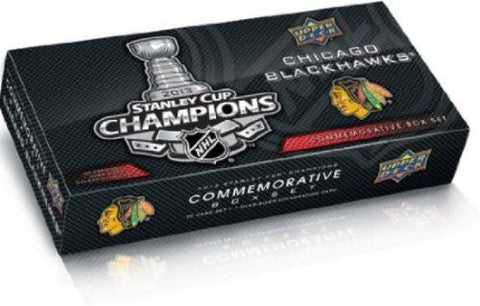 Chicago Blackhawks Upper Deck 2013 Stanley Cup Champions Hockey Cards Commemorative Box Set - Dino's Sports Fan Shop