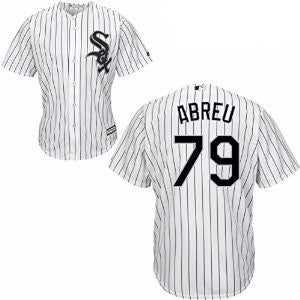 Jose Abreu #79 Chicago White Sox MLB Majestic Youth White Replica Cool Base Jersey - Dino's Sports Fan Shop