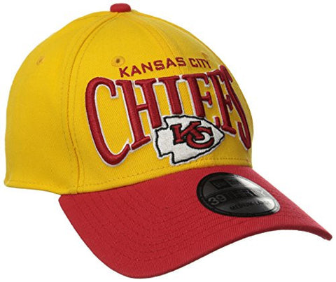 Kansas City Chiefs New Era Coin Toss Classic 3930 Hat - Dino's Sports Fan Shop