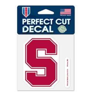 Stanford Cardinal Wincraft Perfect Cut Decal 4x4