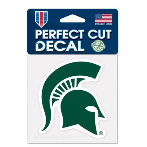 Michigan State Spartans Wincraft Perfect Cut Decal 4x4