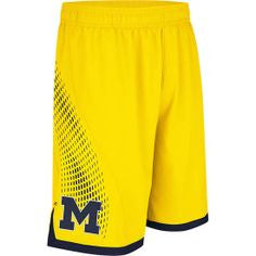 Michigan Wolverines Adidas Adult 2014 March Madness Shorts - Dino's Sports Fan Shop