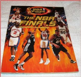 NBA Finals 1999 Commemorative Program New York Knicks vs. San Antonio Spurs - Dino's Sports Fan Shop