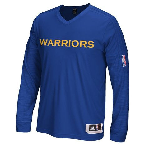 Golden State Warriors Adidas Youth Blue 2015 On-Court Warmup - Dino's Sports Fan Shop