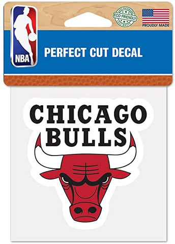 Chicago Bulls Wincraft Perfect Cut Decal 4x4