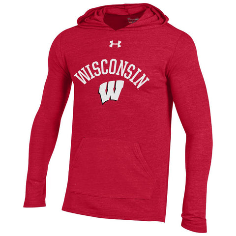 Wisconsin Badgers Under Armour Tri Blend Legacy Sweatshirt - Dino's Sports Fan Shop
