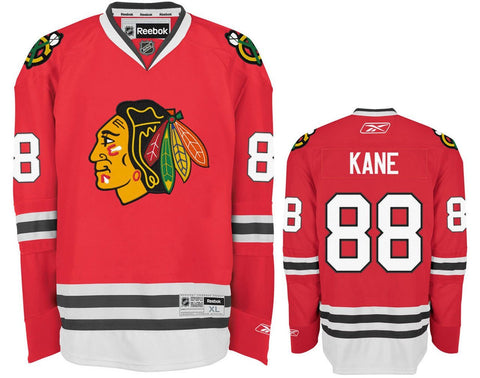 Patrick Kane #88 Chicago Blackhawks Reebok Toddler Team Color Replica Ice Hockey Jersey - Dino's Sports Fan Shop