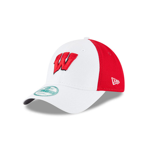 Wisconsin Badgers New Era Adult 9Forty Adjustable Baseball Hat - Dino's Sports Fan Shop - 1