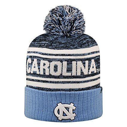 North Carolina Tar Heels Top Of The World NCAA Blue Driven Adult Knit Hat