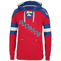 New York Rangers CCM Adult Hockey Fleece Sweatshirt - Dino's Sports Fan Shop