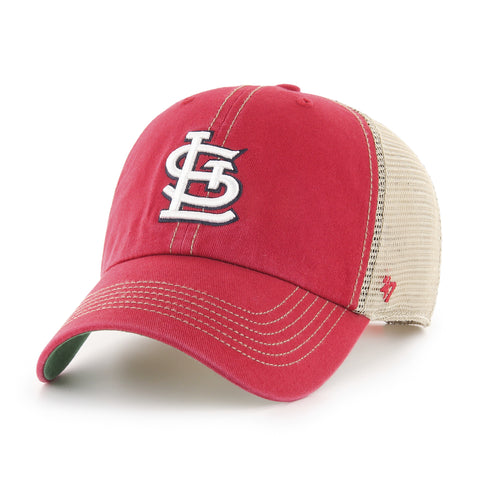 St Louis Cardinals Adult Trawler Clean Up Hat
