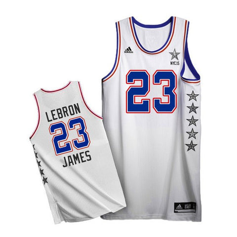 LeBron James #23 Cleveland Cavaliers Eastern Conference adidas Youth 2015 NBA All-Star Game Replica Jersey - Dino's Sports Fan Shop