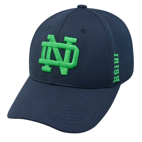 Notre Dame Fighting Irish Top of the World Navy Memory Fit Hat - Dino's Sports Fan Shop