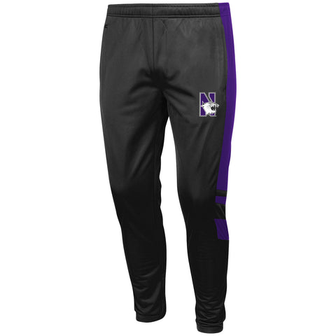 Northwestern Wildcats Colosseum Adult Gray Sweatpants - Dino's Sports Fan Shop