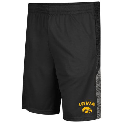 Iowa Hawkeyes Colosseum Friction Shorts - Dino's Sports Fan Shop