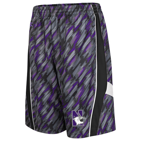 Northwestern Wildcats Colosseum Backcourt Youth Shorts - Dino's Sports Fan Shop