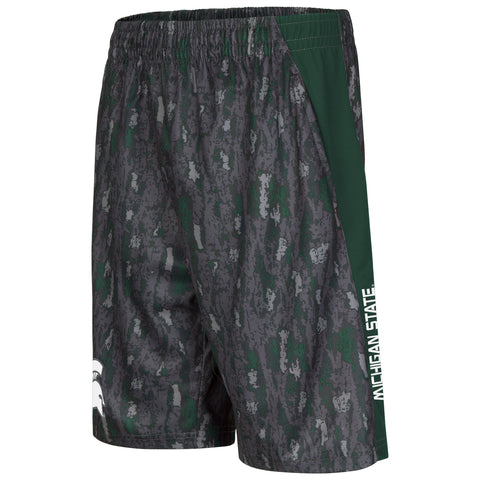 Michigan State Spartans Colosseum Youth Cutter Shorts - Dino's Sports Fan Shop