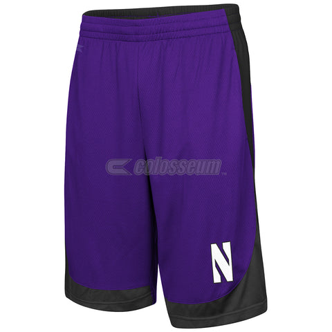 Northwestern Wildcats Colosseum Hall Of Fame Youth Shorts