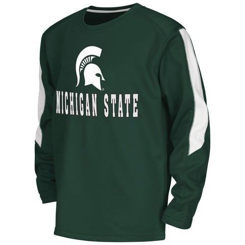Michigan State Spartans Colosseum Youth Chopblock L/S Shirt - Dino's Sports Fan Shop