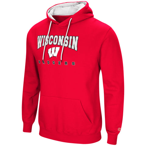 Wisconsin Badgers Adult Paycheck Pullover Hoodie Colosseum