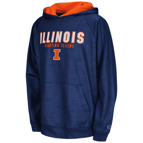 Illinois Fighting Illini Colosseum Youth Surge Stadium Sweatshirt - Dino's Sports Fan Shop