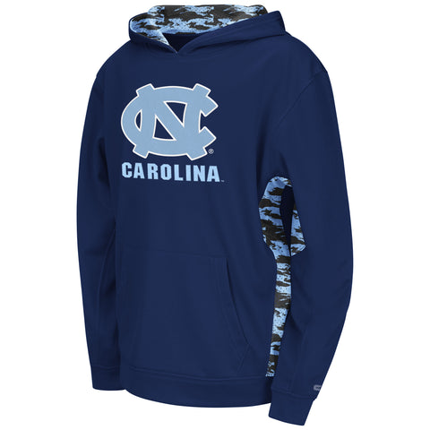 North Carolina Tar Heels Colosseum Oil Slick Youth Sweatshirt - Dino's Sports Fan Shop