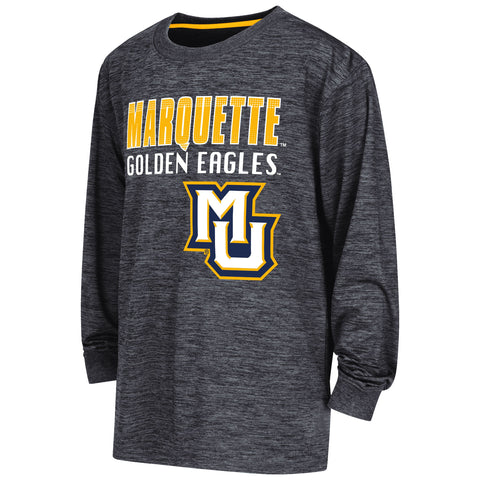 Marquette Golden Eagles Colosseum Youth Cornerback L/S Performance Shirt - Dino's Sports Fan Shop