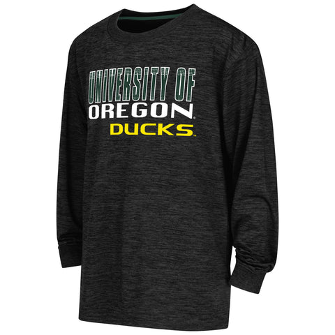 Oregon Ducks Colosseum Youth Cornerback L/S Performance Shirt - Dino's Sports Fan Shop