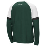Michigan State Spartans Colosseum Youth Ollie L/S Raglan Shirt
