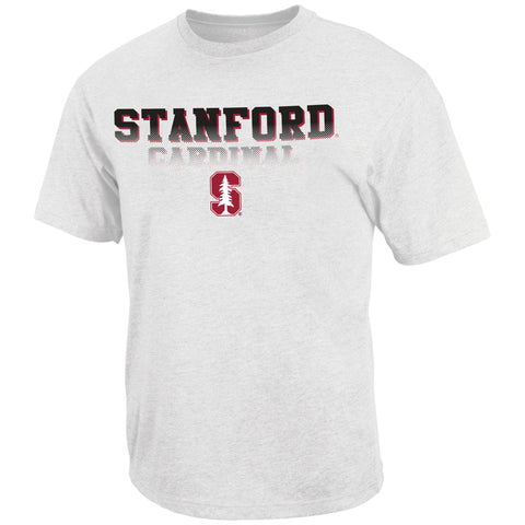 Stanford Cardinal Colosseum White Fade In Shirt - Dino's Sports Fan Shop - 1