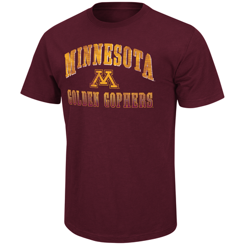 Minnesota Golden Gophers Colosseum Contour Tee Men's Shirt - Dino's Sports Fan Shop