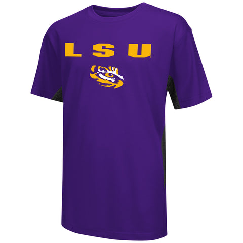LSU Tigers Colosseum Youth Ultra Performance Shirt - Dino's Sports Fan Shop