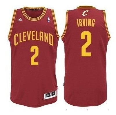 Kyrie Irving #2 Cleveland Cavaliers Adidas Youth Swingman Road Jersey, Red - Dino's Sports Fan Shop