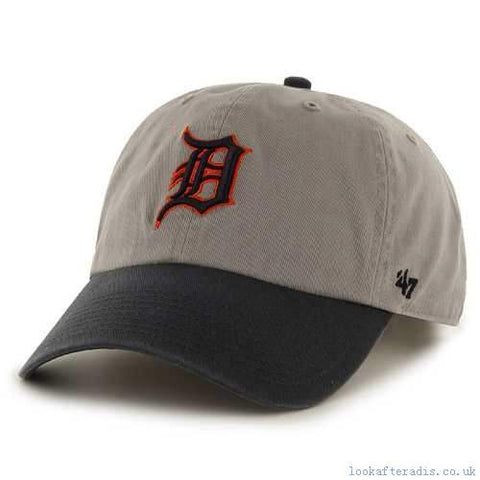 Detroit Tigers '47 Brand Clean Up Color Blocked Adjustable Hat