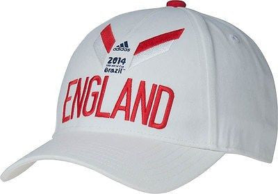 England Adidas 2014 World Cup Soccer Adjustable Hat - Dino's Sports Fan Shop